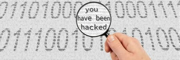 Computer data hacked
